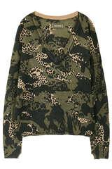 Pullover mit Camouflage Print aus Cashmere  - ZADIG & VOLTAIRE
