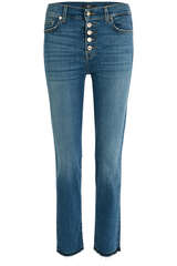 Jeans The Straight Crop Soho Light - 7 FOR ALL MANKIND