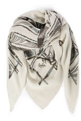Tuch Triangle Flying Falcon M aus Cashmere - LALA BERLIN