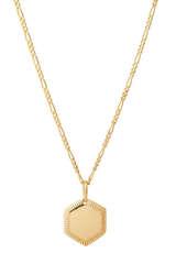 Vergoldete Halskette aus Sterlingsilber - MARIA BLACK