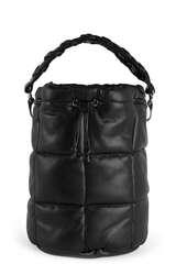 Bucket Bag Scarlet Quilt aus Lederimitat - STAND STUDIO