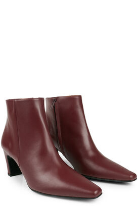 Stiefeletten Xenia Leather Burgundy