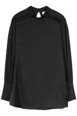 Bluse Fancy Silk aus Seide  - IVI COLLECTION