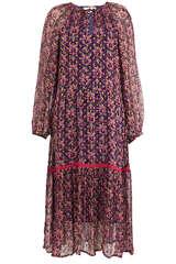 Midi-Kleid Stine aus Viskose und Lurex - CECILIE COPENHAGEN