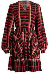 Kleid Farrow mit Karo-Muster - STINE GOYA