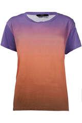 T-Shirt mit Farbverlauf - SET