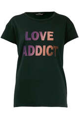 T-Shirt Love Addict - SET