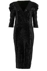 Kleid mit Pailletten - SET