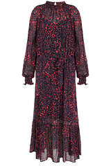 Midi-Kleid aus Viskose - SET