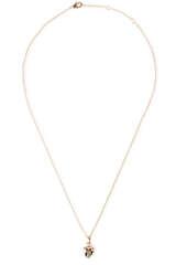 Vergoldete Halskette Heart of Gold - KALAIKA