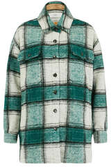 Shirtjacke aus italienischem Woll-Blend - CLOSED