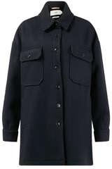 Shirtjacke aus Schurwolle und Cashmere - CLOSED