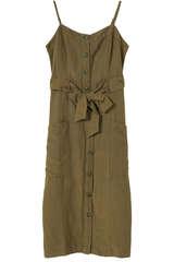Kleid Evie aus Leinen und Rayon - RAILS