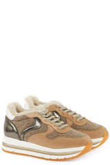 Sneakers Maran mit Lammfell - VOILE BLANCHE
