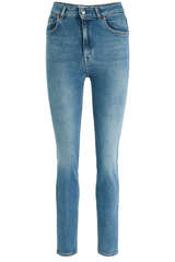 High-Waist Jeans Marylin B True Blue Six - WON HUNDRED