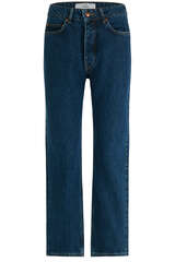 High-Waist Mom-Jeans Stone Blue - WON HUNDRED