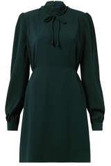 Kleid Prisilla mit Perlenknöpfen und Raffung  - CUSTOMMADE