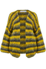Cardigan mit Mohair - LES TRICOTS D'O!