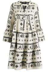 Tunikakleid mit Baumwolle und Rayon  - DEVOTION