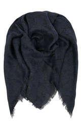 Tuch Silloa aus Baumwolle mit Lurexmuster - BECKSÖNDERGAARD
