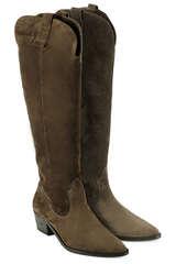 Stiefel aus Veloursleder - KENNEL & SCHMENGER