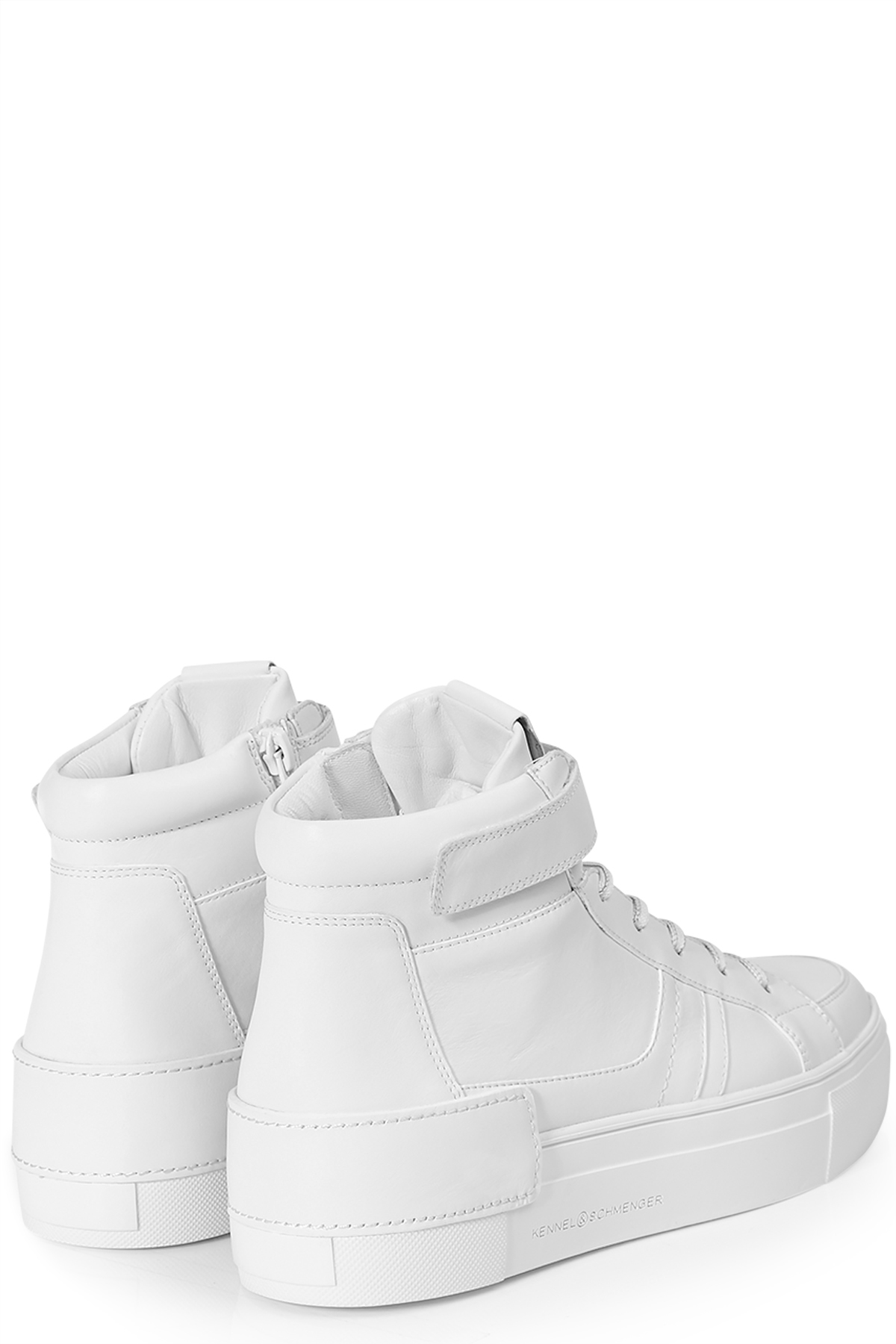 High-Top-Sneakers Sonic aus Leder