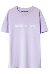 T-Shirt Flatten the Curve - US TOGETHER by myCLASSICO.com