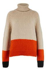 Pullover mit Merino- und Alpakawolle   - BLOOM