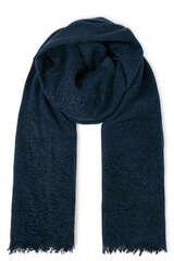 Schal aus Cashmere mit Tupfen-Print - BLOOM