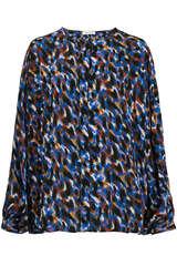 Bluse aus Viskose mit Tupfenprint - BLOOM