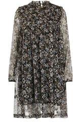Kleid aus Seiden Chiffon mit Lurex - BLOOM