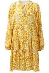 Kleid Mixed Leo aus Viskose-Seide-Blend - ANINE BING