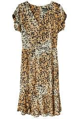 Kleid Tabea mit Leo-Print - SET