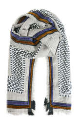 Schal aus Wollblend und Seide - RUBICON