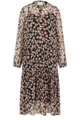 Kleid Fleurir aus Viskose-Chiffon - SECOND FEMALE