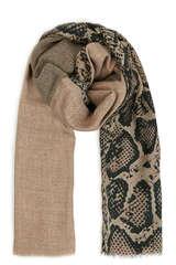 Schal mit Wolle und Seide - MEL & DAVIS NY
