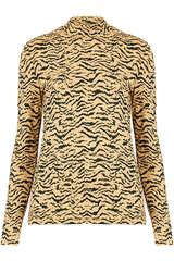 Langarmshirt aus Viskose-Stretch - SET
