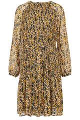 Kleid aus Chiffon mit Plissée - SET