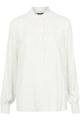 Bluse aus Viskose mit Drapierung - SET