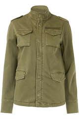 Field Jacket aus Canvas - ANINE BING