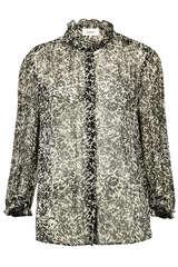 Bluse aus Viskose-Krepp - BA&SH