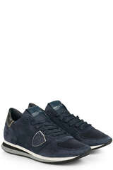 Sneakers TZLD Daim Bleu - PHILIPPE MODEL