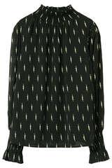 Bluse mit Smokdetails - SOFIE SCHNOOR