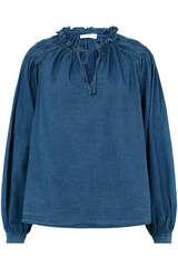 Bluse aus Baumwoll-Twill - CLOSED