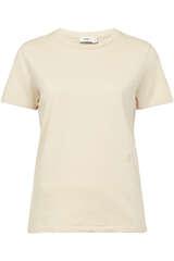 T-Shirt aus Baumwolle und Leinen - CLOSED
