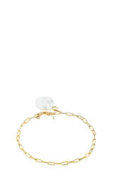 Vergoldetes Armband Alessandria mit Perlen - MARIA BLACK