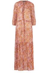 Maxi-Kleid mit Paisley-Print - SET
