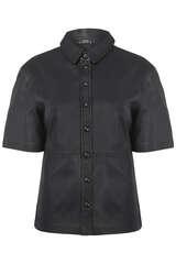 Perforiertes Lederhemd - SET