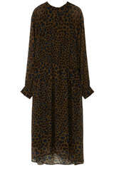 Midi-Kleid aus Viskose - IHEART