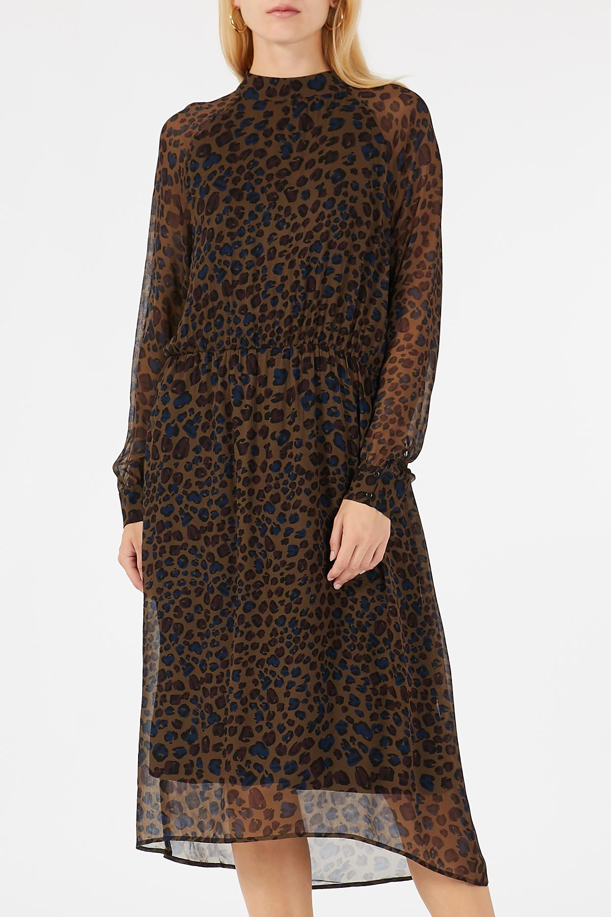 Midi-Kleid aus Viskose | IHEART | myCLASSICO.com